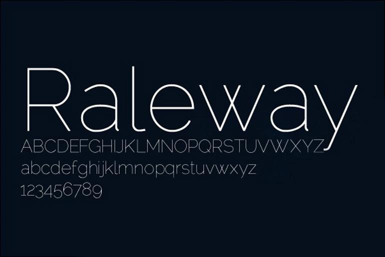 14-Raleway