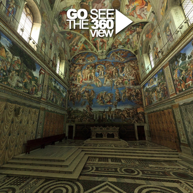 The Sistine Chapel In 360 View Eugengolumbeanu Portfolio